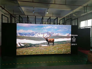 China Interior Event Stage Background LED Display Advertising High Brightness supplier