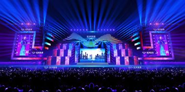 Digital P4 Stage Rental LED Display / Signage Tv Large Led Screen Hire