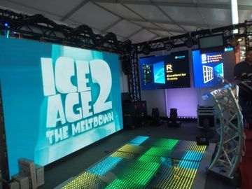 SMD Stage Rental LED Display / HD P4 Led Display Module Die Casting Aluminum