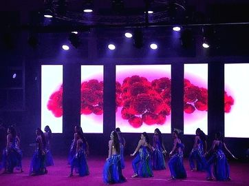 Ultra Thin HD Stage Background Led Display Big Screen P4.8 P4.81 Indoor Rental