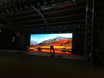 P4.81 Large Hd Full Color Led Panel Video Wall Stage Background Internal Rental