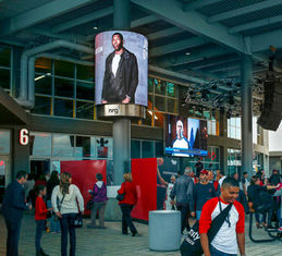 High Definition Flexible Led Panel Screen Display Outdoor Advertising