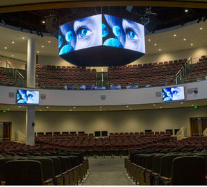 Cube Flexible LED Screen Replacement / Ultra Flexibility Flexible Led Video Panels